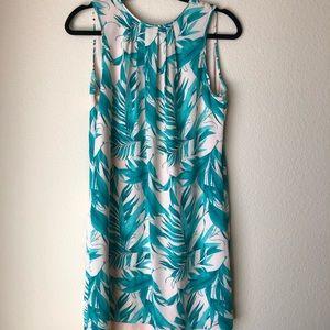 Summer Floral Shift Dress